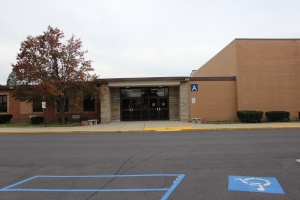 Peifer Elementary front entrance